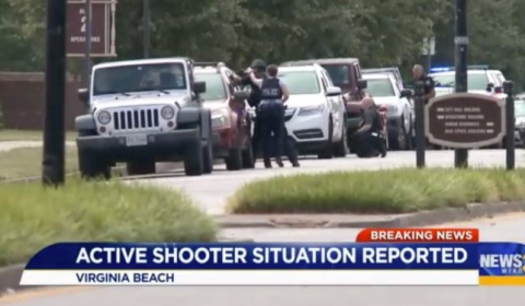 5/31/2019 - 12 dead, several injured in shooting at Virginia Beach municipal complex