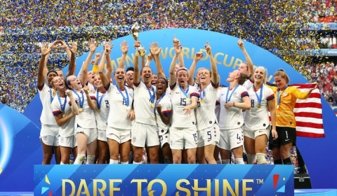 7/7/2019 - USA wins the Women's World Cup